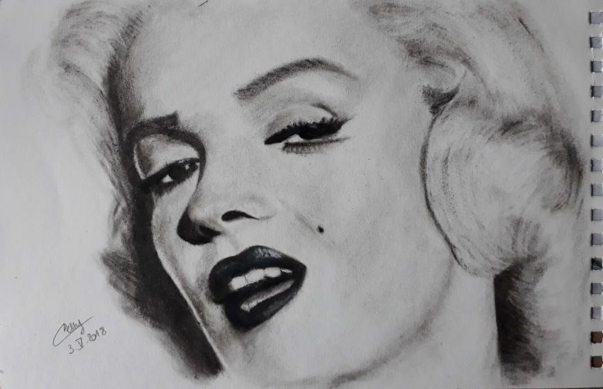 Marilyn Monroe by Cessydu31